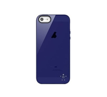 Apple Belkin Grip Sheer Apple iPhone 5 Case - Indigo F8W093QEC02