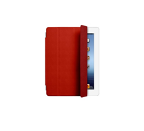 Apple iPad Smart Cover - Leather - Red