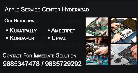 apple service center locations in hyderabad, kukatpally, ameerpet, kondapur, uppal